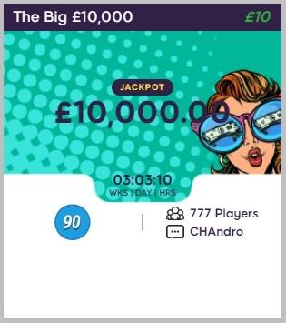 BBQ Bingo The Big £10,000