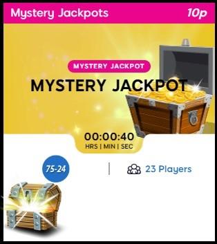 Big Tease Bingo Mystery Jackpot
