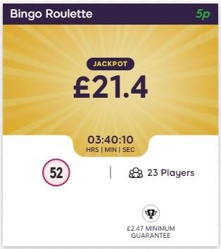 Bingo Giving Bingo Roulette
