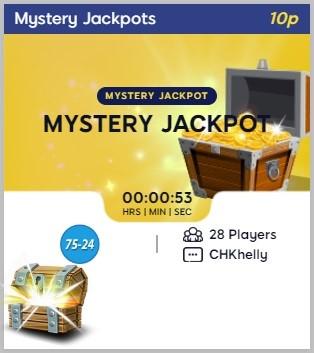 Bingo Hearts Mystery Jackpot