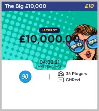 Bingo Hearts The Big £10,000