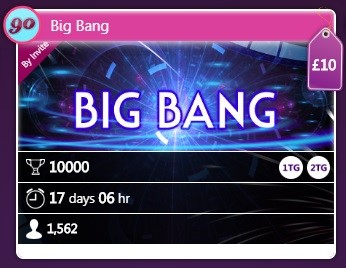 Bingo Hollywood Big Bang