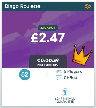 BingoZino Bingo Roulette