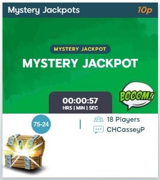 BingoZino Mystery Jackpot