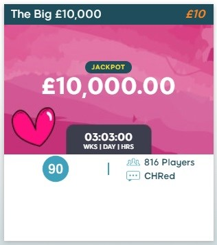 BingoZino The Big £10,000