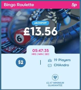 Bubble Bonus Bingo Bingo Roulette