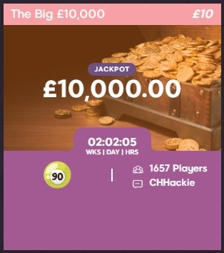 Bumble Bingo The Big 10000