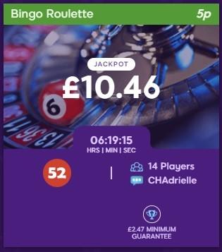 Butterfly Bingo Bingo Roulette