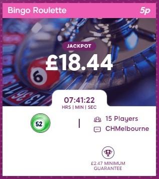 Candy Shop Bingo Bingo Roulette