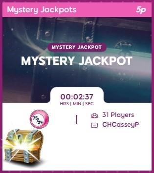 Candy Shop Bingo Mystery Jackpot