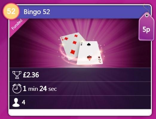 Chit Chat Bingo Bingo 52