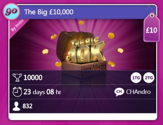 Chit Chat Bingo The Big 10000