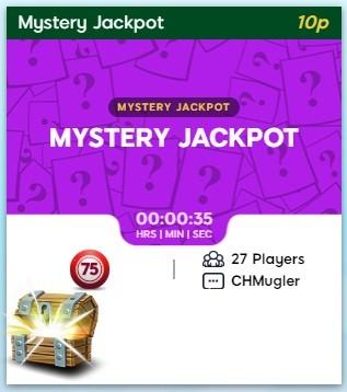 Crocodile Bingo Mystery Jackpot