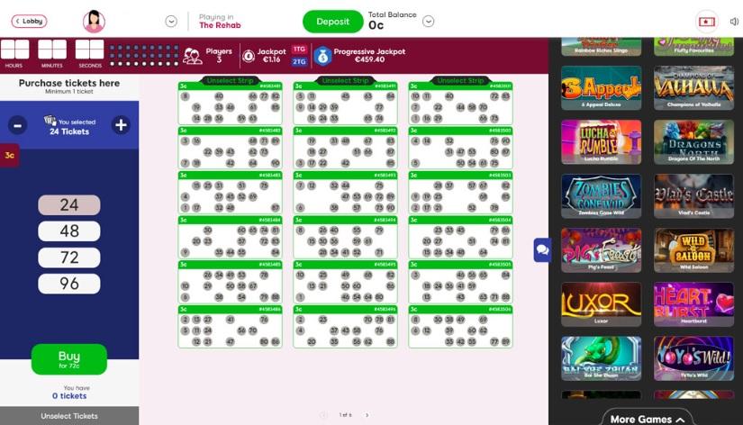 Cupcake Bingo Game in Progress