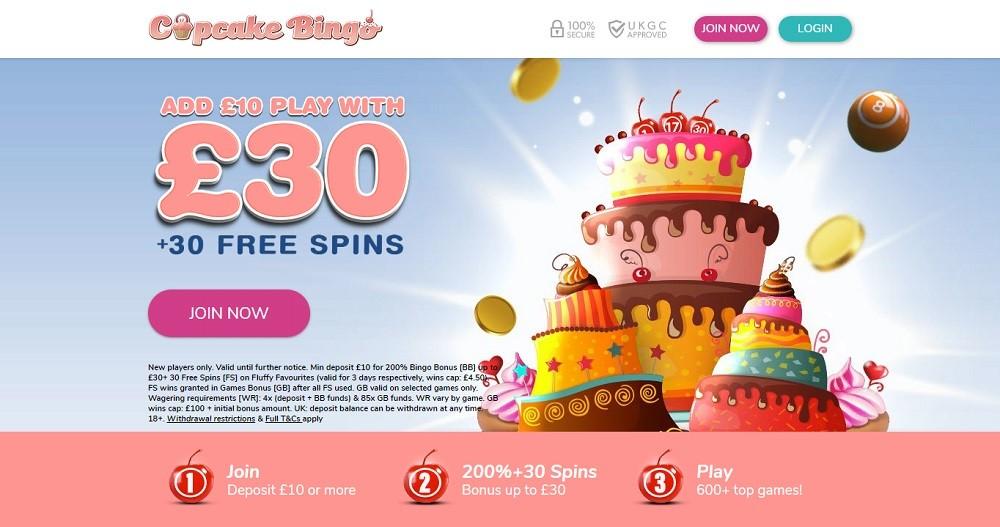 Cupcake Bingo Website