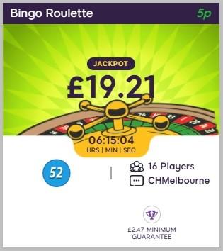 Daisy Bingo Bingo Roulette