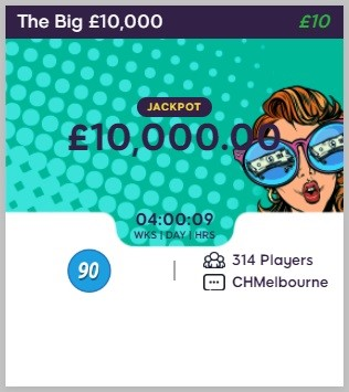 Daisy Bingo The Big £10,000