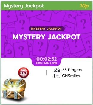 Dino Bingo Mystery Jackpot
