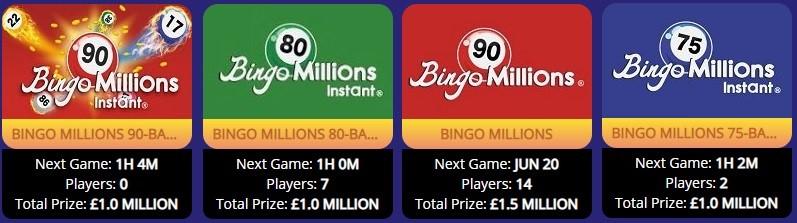 Elf Bingo Bingo Millions