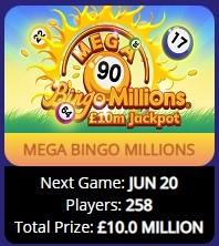 Elf Bingo Mega Bingo Millions