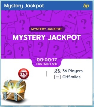 Frozen Bingo Mystery Jackpot
