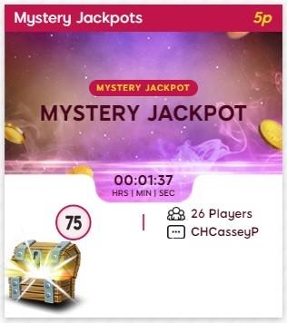 Guestlist Bingo Mystery Jackpot