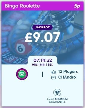 Hippo Bingo Bingo Roulette