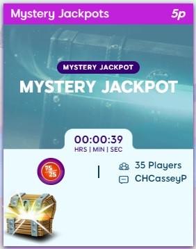 Hippo Bingo Mystery Jackpot