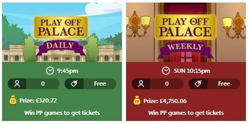 Jackpot Joy Bingo Play Off Palace