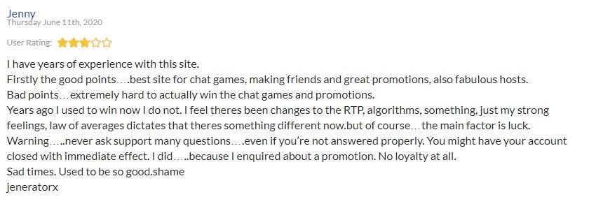 Jackpot Joy Bingo Player Review 4
