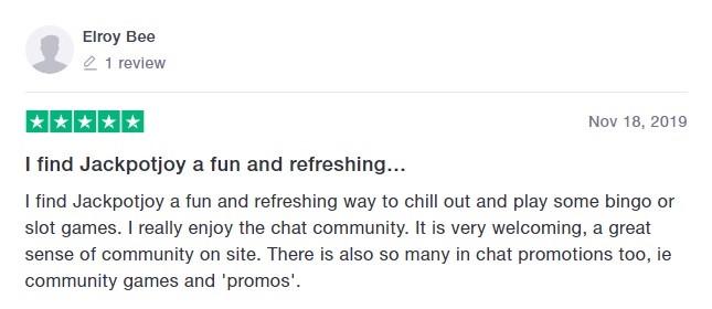 Jackpot Joy Bingo Player Review 8