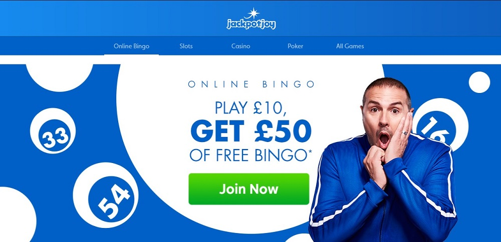 Jackpot Joy Bingo Website