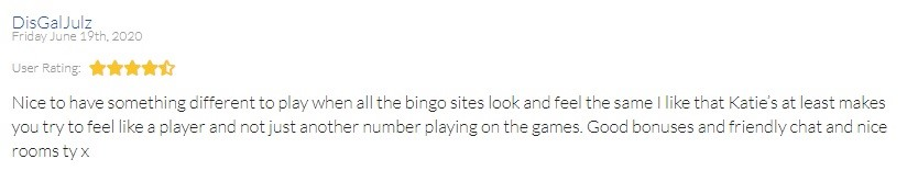 Katies Bingo Player Review 4