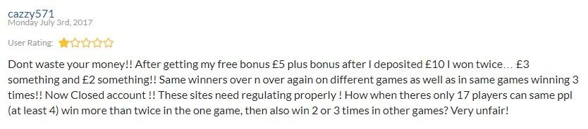 Kingdom of Bingo Player Review