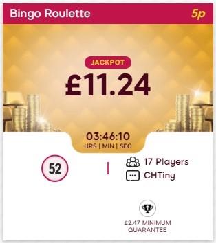 Lippy Bingo Bingo Roulette