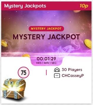 Lippy Bingo Mystery Jackpot