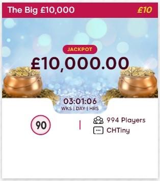 Lippy Bingo The Big 10000