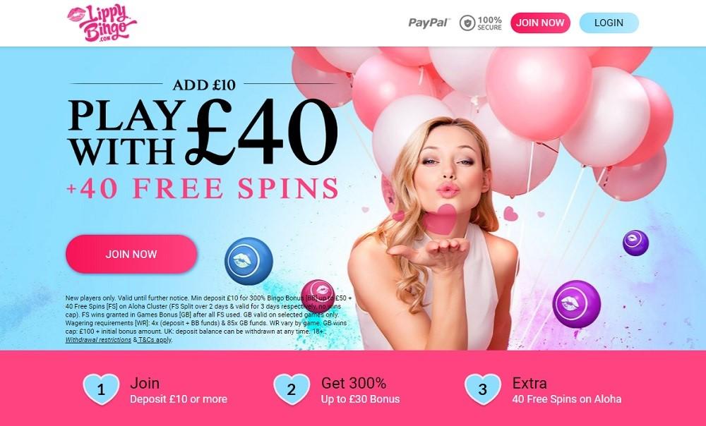 Lippy Bingo Website