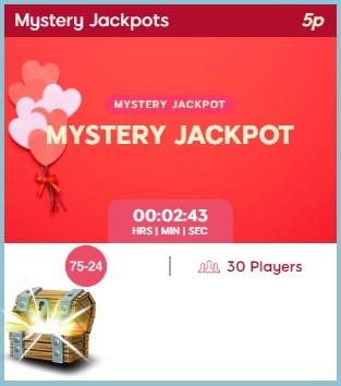 Lovehearts Bingo Mystery Jackpot