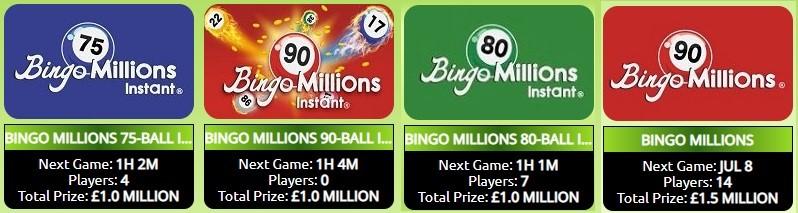 Lucky Cow Bingo Bingo Millions