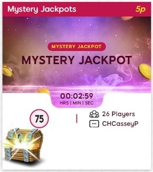Neon Bingo Mystery Jackpot