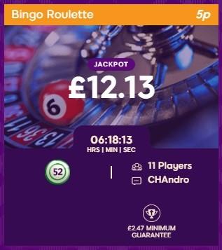 Nutty Bingo Bingo Roulette