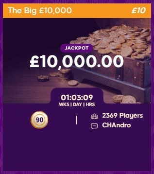 Nutty Bingo The Big £10,000