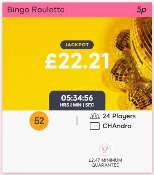 Pink Ribbon Bingo Bingo Roulette
