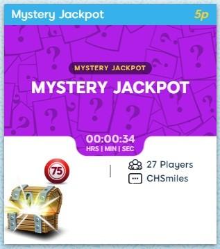 Rewind Bingo Mystery Jackpot