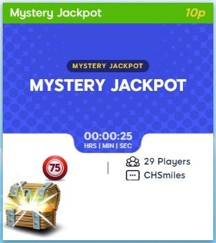 Rio Bingo Mystery Jackpot