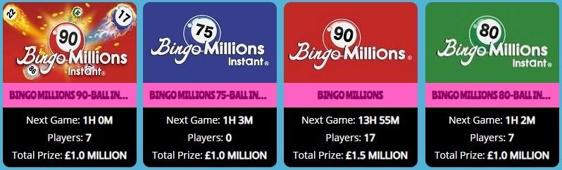 Showreel Bingo Bingo Millions