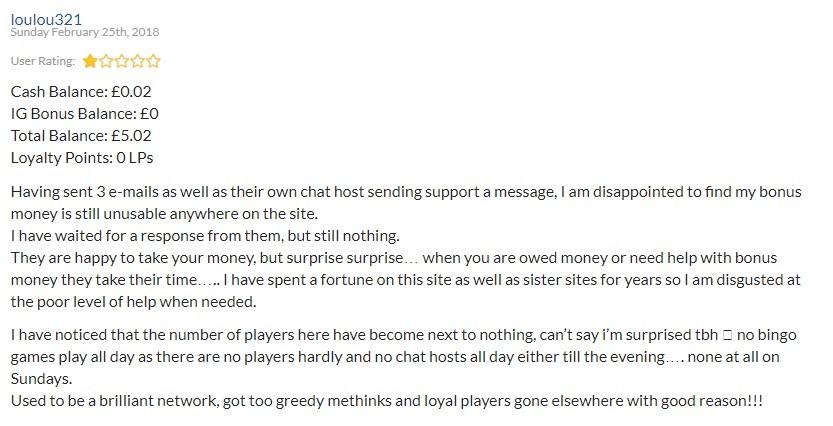Showreel Bingo Player Review