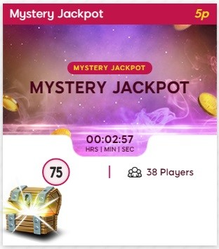 Tip Top Bingo Mystery Jackpot