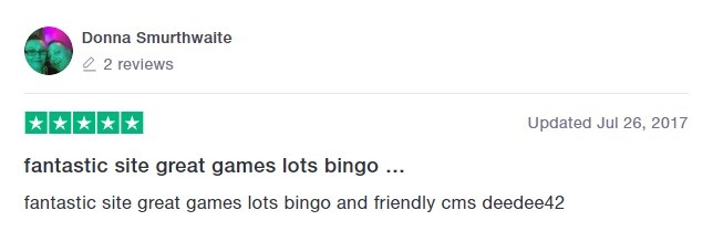 Tip Top Bingo Player Review 4